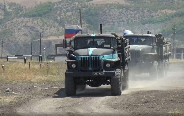 Тактика действий «кочующего» миномета  - Sputnik Азербайджан