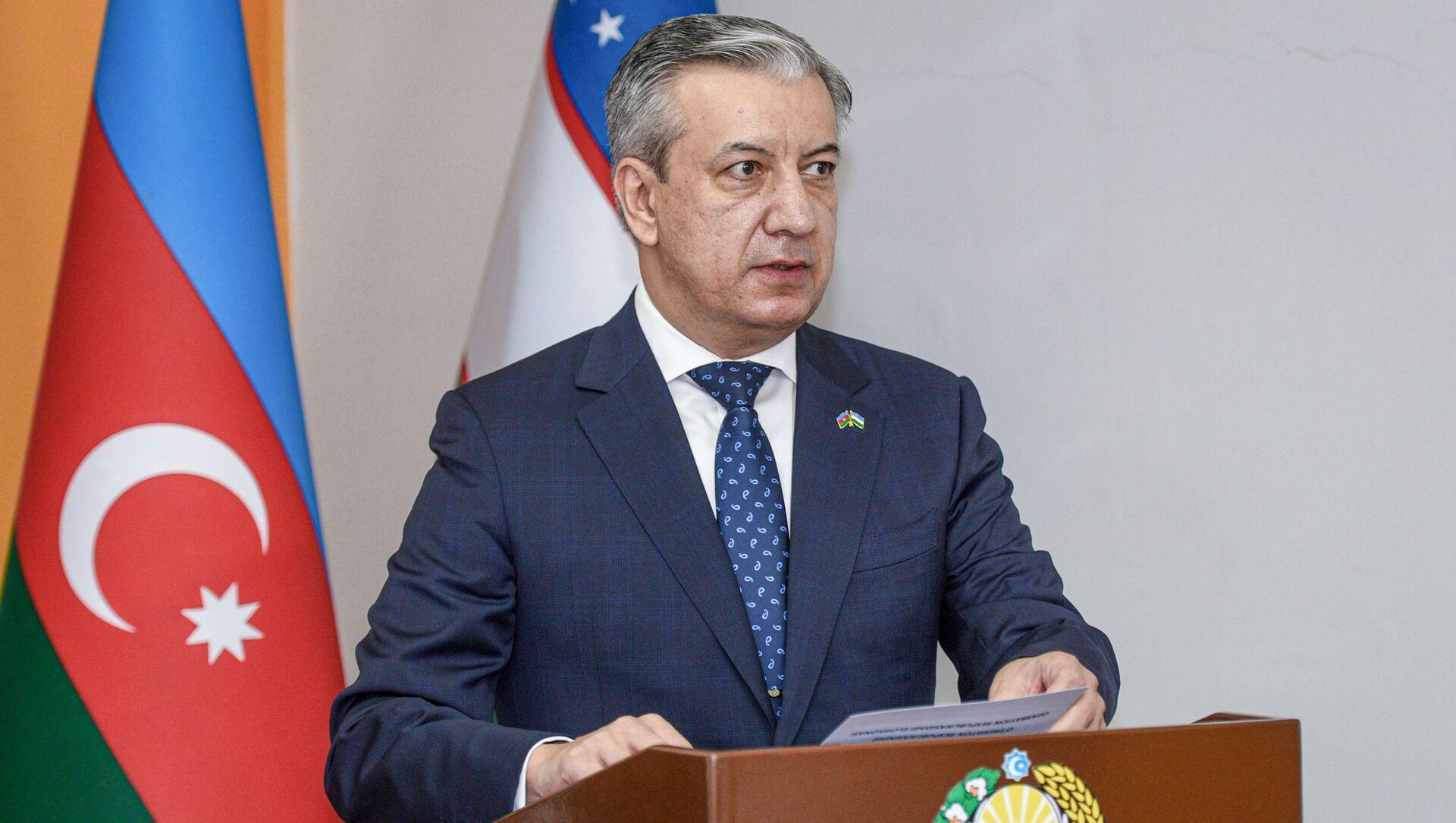 Посол Узбекистана в АР Бахром Ашрафханов  - Sputnik Azərbaycan, 1920, 11.08.2021