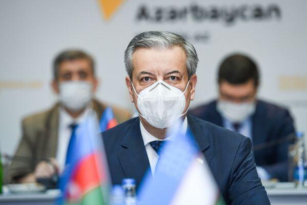 Посол Узбекистана в АР Бахром Ашрафханов. - Sputnik Азербайджан