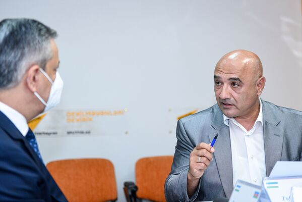 Политолог Тофик Аббасов. - Sputnik Азербайджан