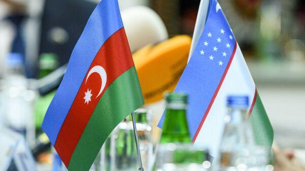 Özbəkistan Azərbaycanın bayrağı - Sputnik Azərbaycan