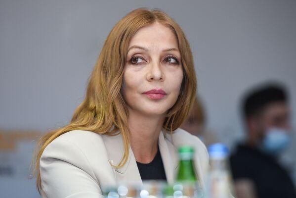 Заместитель генерального директора агентства Trend Гюльнара Мамедзаде. - Sputnik Азербайджан