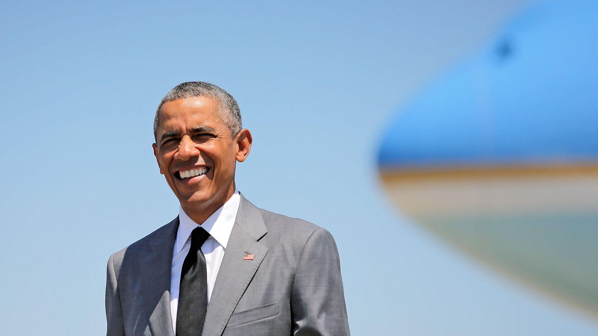 Экс-президент США Барак Обама - Sputnik Азербайджан, 1920, 13.08.2021