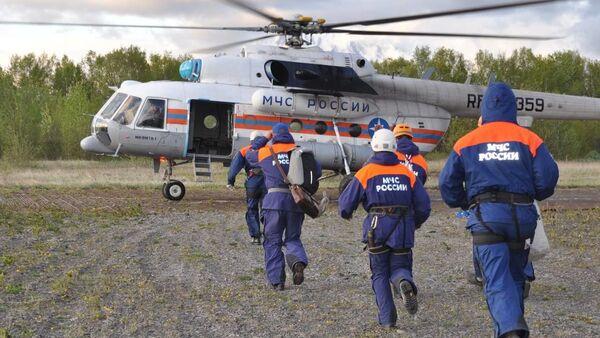 Крушение вертолёта МИ-8 на Камчатке - Sputnik Азербайджан