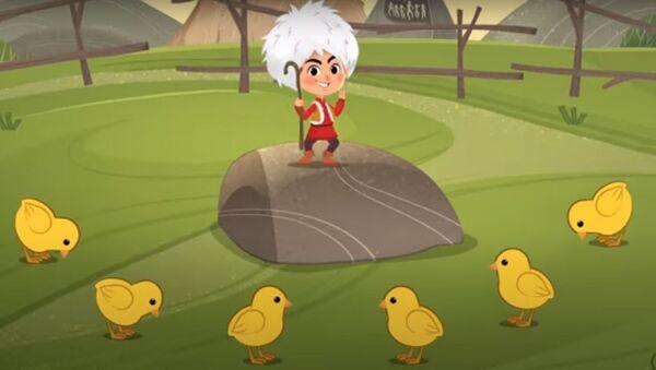 Кадр из мультфильма Маша и медведь - Sputnik Azərbaycan