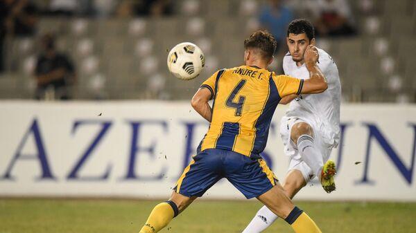 Матч третьего квалификационного раунда Лиги Конференций между азербайджанским Карабахом и кипрским AEL - Sputnik Азербайджан