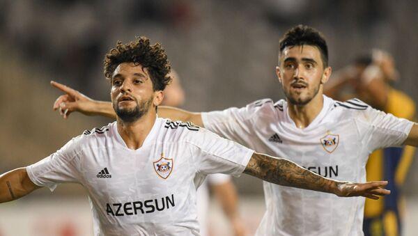 Матч третьего квалификационного раунда Лиги Конференций между азербайджанским Карабахом и кипрским AEL - Sputnik Azərbaycan