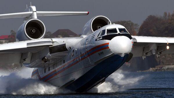Учения авиационного отряда МЧС в Приморье - Sputnik Азербайджан