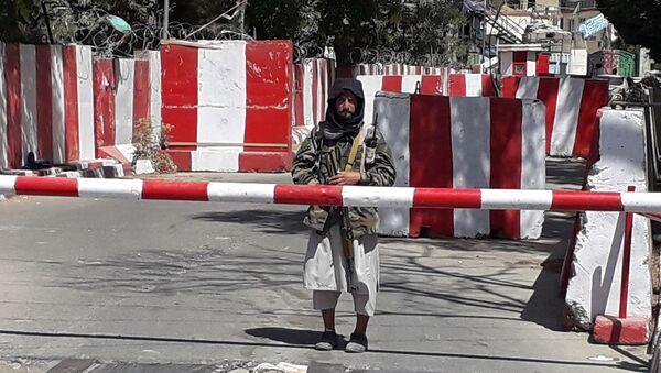 Боевики движения Талибан в Афганистане, фото аз архива - Sputnik Азербайджан