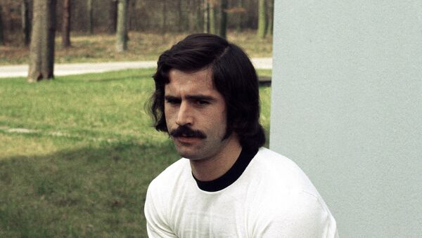 Герд Мюллер, фото из архива - Sputnik Азербайджан