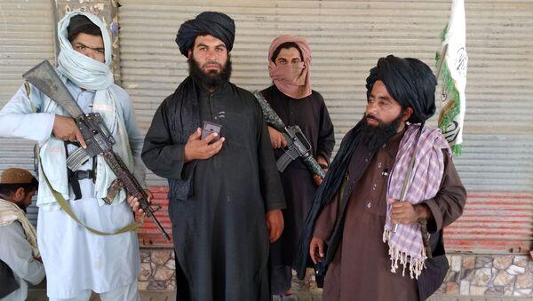 Боевики движения Талибан в Афганистане, фото аз архива  - Sputnik Azərbaycan