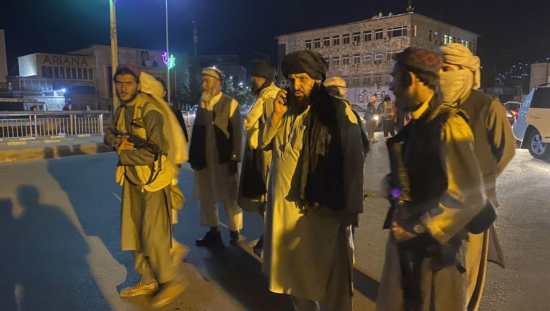 Боевики движения Талибан в Афганистане, фото аз архива - Sputnik Азербайджан, 1920, 17.08.2021
