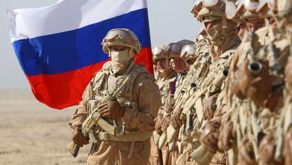Российские военнослужащие  - Sputnik Азербайджан