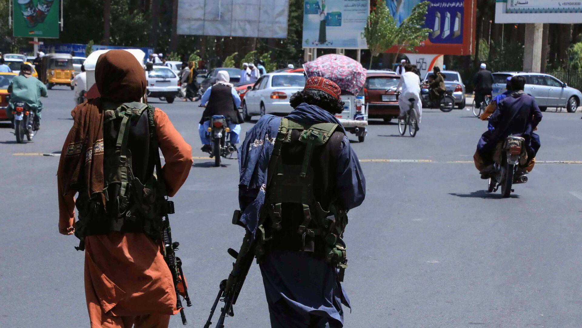 Боевики движения Талибан (террористическая группировка, запрещенная в РФ) в Афганистане, фото аз архива - Sputnik Азербайджан, 1920, 16.08.2021