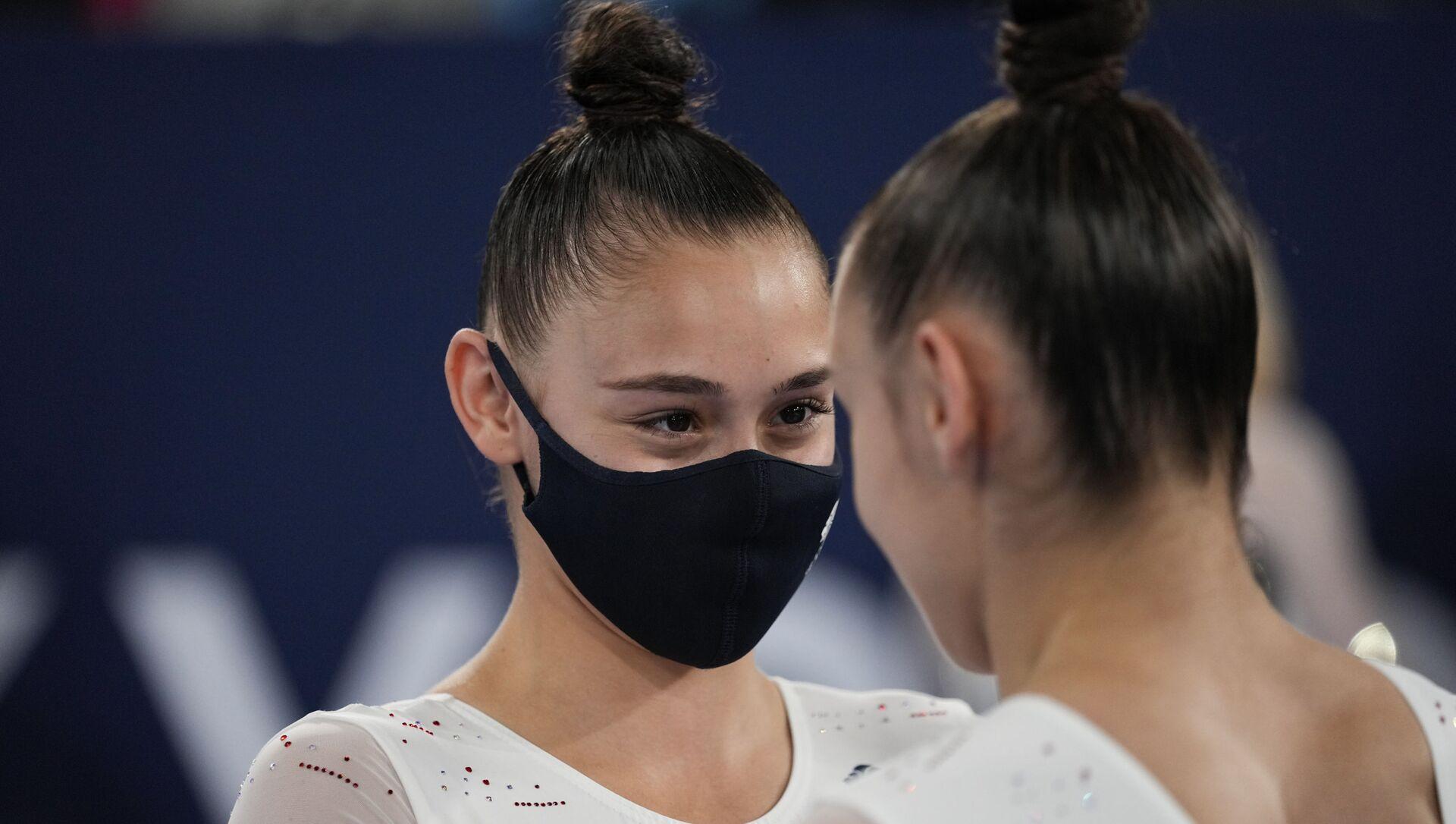 Сестры-близнецы Джессика и Дженифер Гадировы  - Sputnik Азербайджан, 1920, 17.08.2021