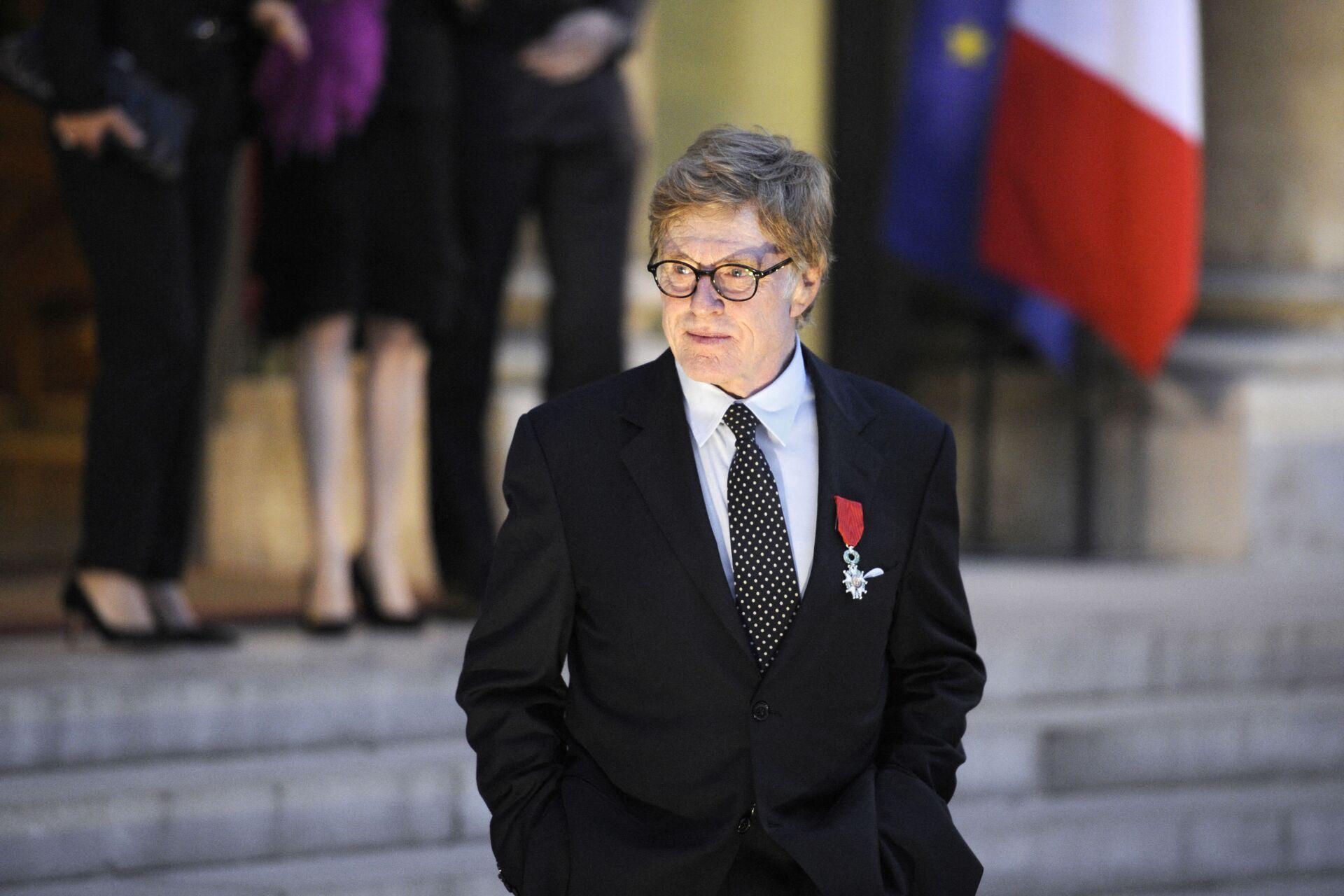 Актер Роберт Рэдфорд в Париже, 14 октябра 2010 года - Sputnik Азербайджан, 1920, 01.10.2021