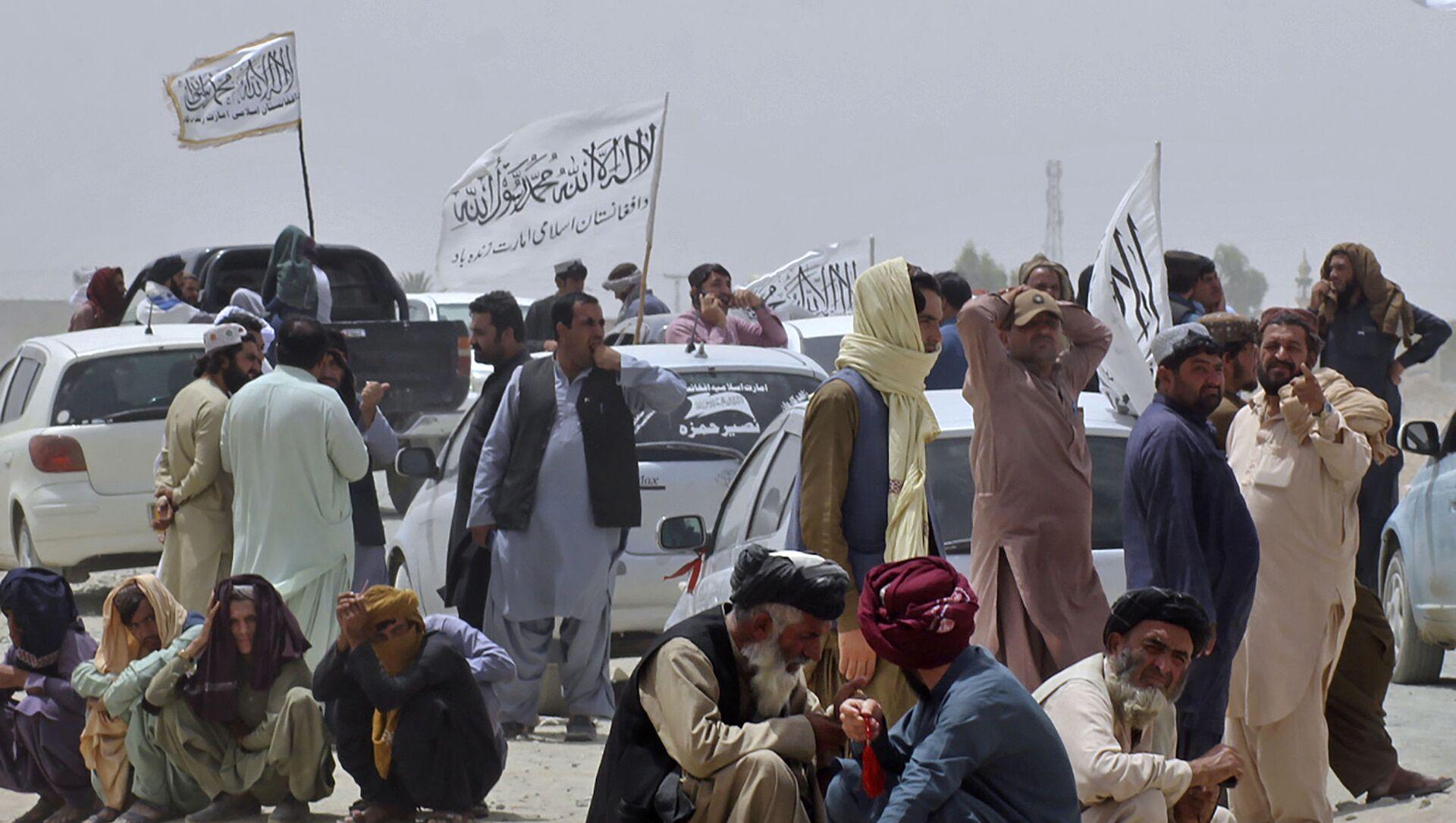 Боевики движения Талибан (террористическая группировка, запрещеннфая в РФ) , 17 авгутса 2021 года  - Sputnik Azərbaycan, 1920, 28.08.2021
