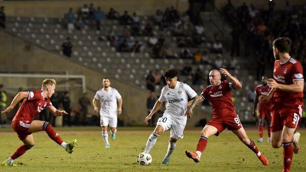 Konfrans Liqası: Qarabağ - Aberdin oyunu - Sputnik Azərbaycan