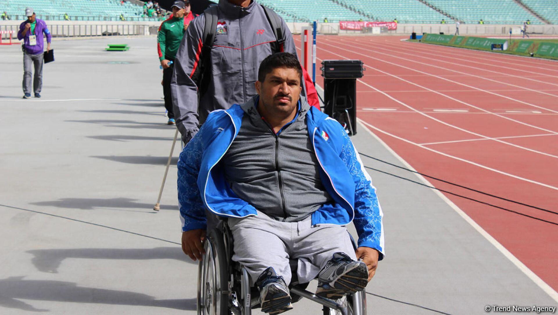 Paralimpiya çempionu Oloxan Musayev - Sputnik Azərbaycan, 1920, 20.08.2021