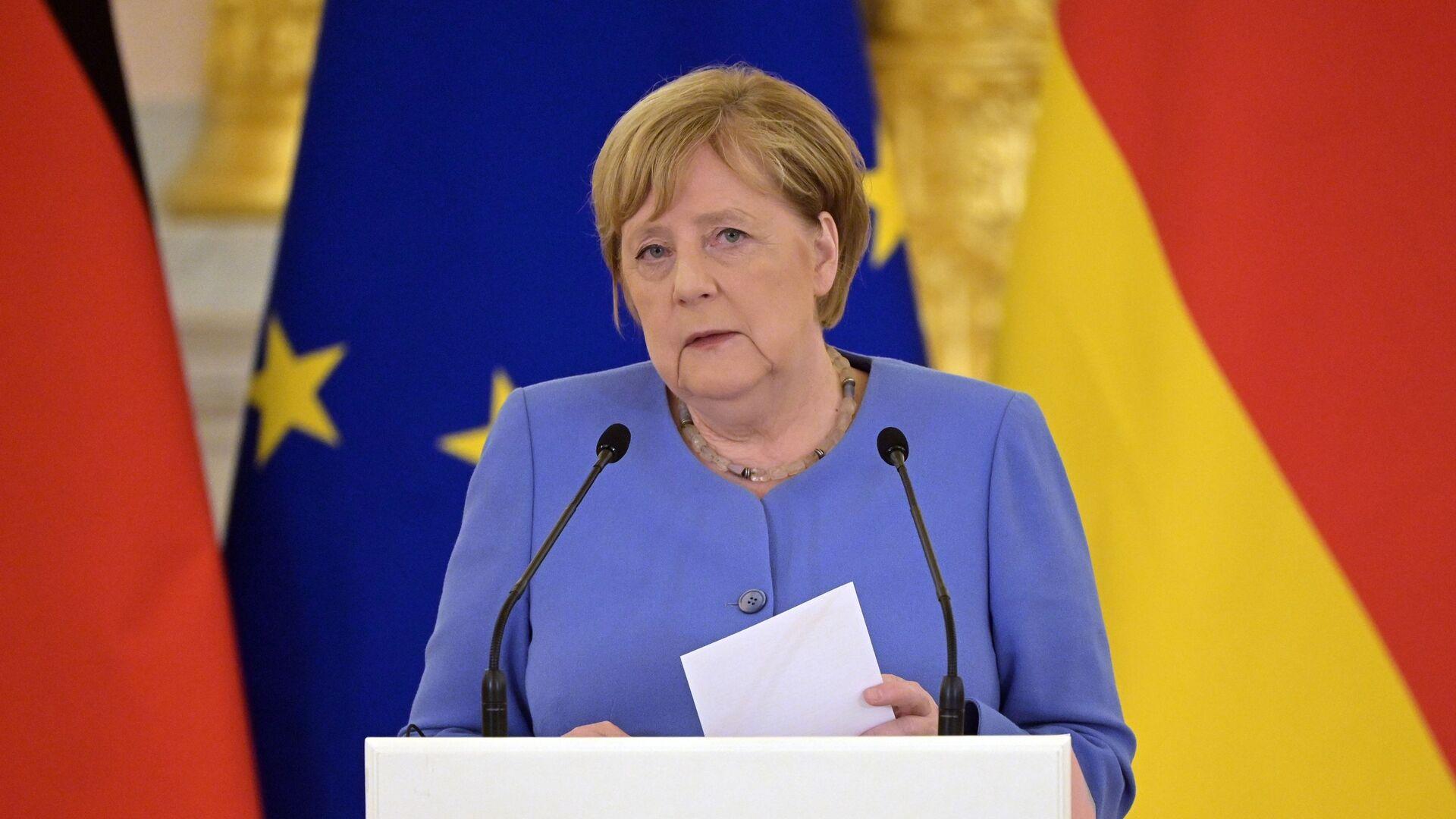 Angela Merkel - Sputnik Azərbaycan, 1920, 29.09.2021