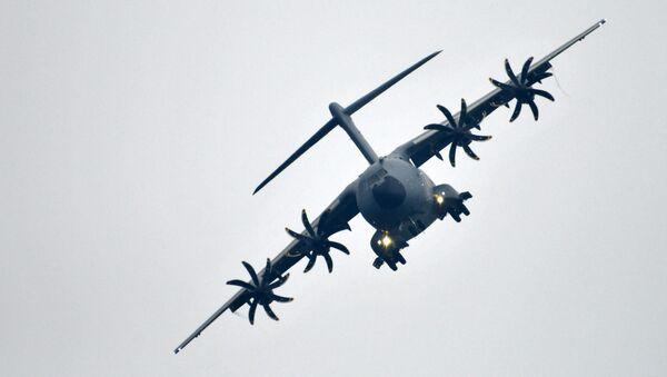 Самолет ВВС Германии - Sputnik Азербайджан