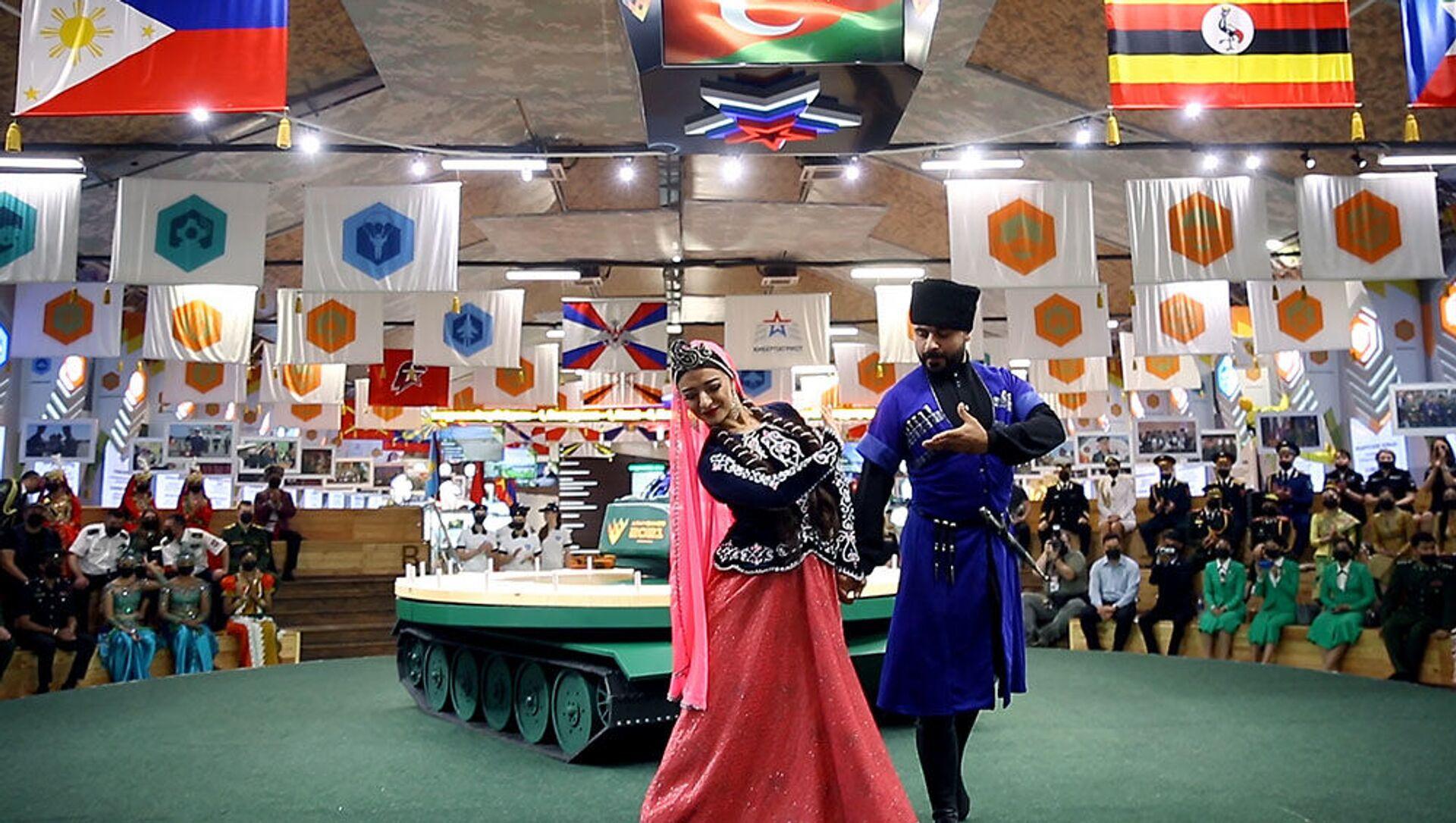 Azərbaycan hərbçiləri Moskvada Mədəniyyət Ordusu yaradıcılıq müsabiqəsində iştirak edir - Sputnik Azərbaycan, 1920, 23.08.2021