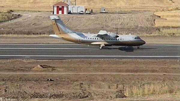В Международном аэропорту в Физули проверяется готовность радиотехнических средств - Sputnik Азербайджан