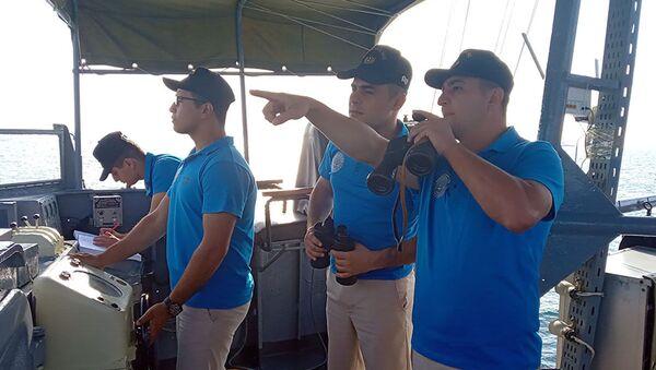 Проведен осмотр территории и учебно-тренировочного сооружения, где будет проходить конкурс Кубок моря - Sputnik Азербайджан