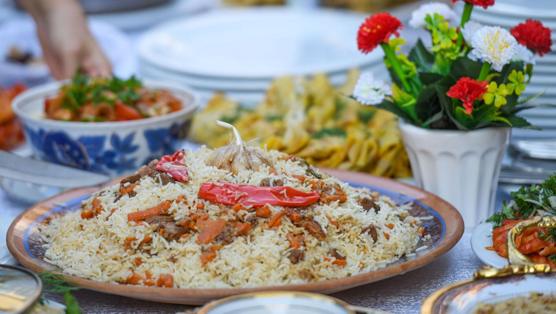 Неделя узбекской кухни в Азербайджане - Sputnik Азербайджан, 1920, 17.09.2021