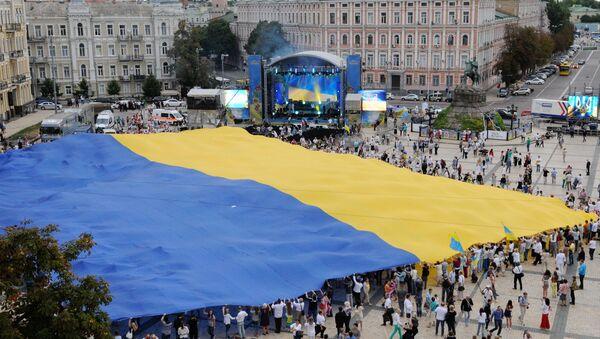 Празднование Дня Независимости Украины - Sputnik Азербайджан