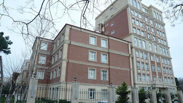 Здание военной прокуратуры АР, фото из архива - Sputnik Азербайджан