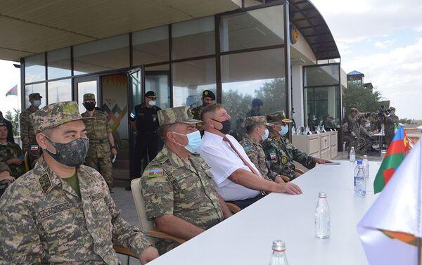 В Казахстане состоялась церемония открытия конкурса Мастера артиллерийского огня - Sputnik Азербайджан