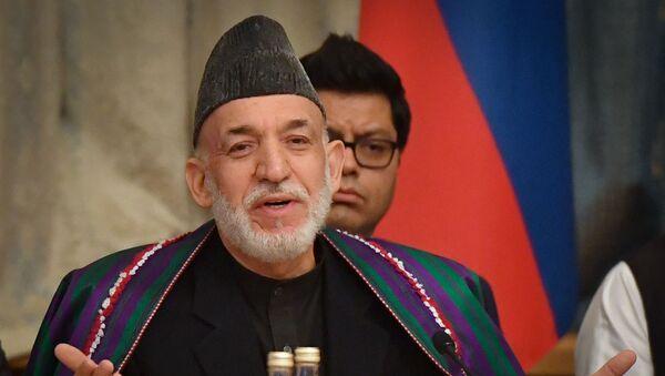 Экс-президент Афганистана Хамид Карзай - Sputnik Азербайджан