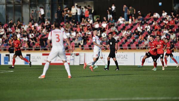 Игровой момент в матче Габала - Кешля - Sputnik Азербайджан