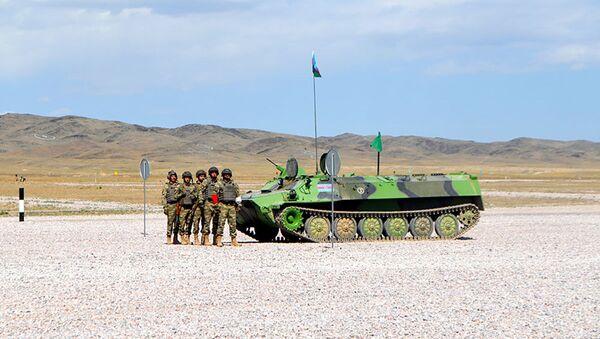 """""""Artilleriya atəşinin ustaları"""" müsabiqəsinə start verilib - Sputnik Азербайджан"""