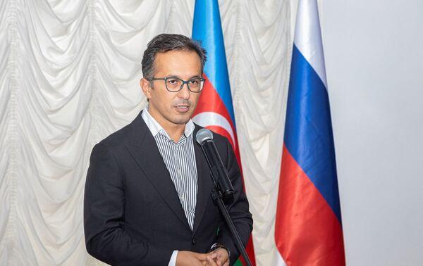 Церемония открытия Клуба «Дружбы Народов Азербайджана и России» в Баку - Sputnik Азербайджан