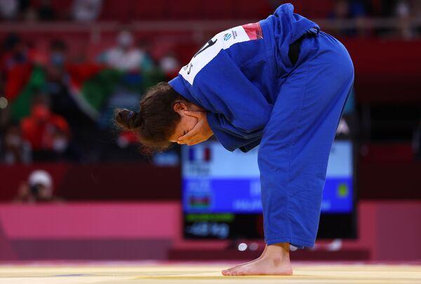 Дзюдоистка Шахана Гаджиева  (48 килограммов) - победительница летних Паралимпийских игр Токио-2020 (золотая медаль). - Sputnik Азербайджан
