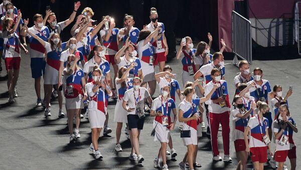 Церемония закрытия XXXII летних Олимпийских игр в Токио - Sputnik Azərbaycan