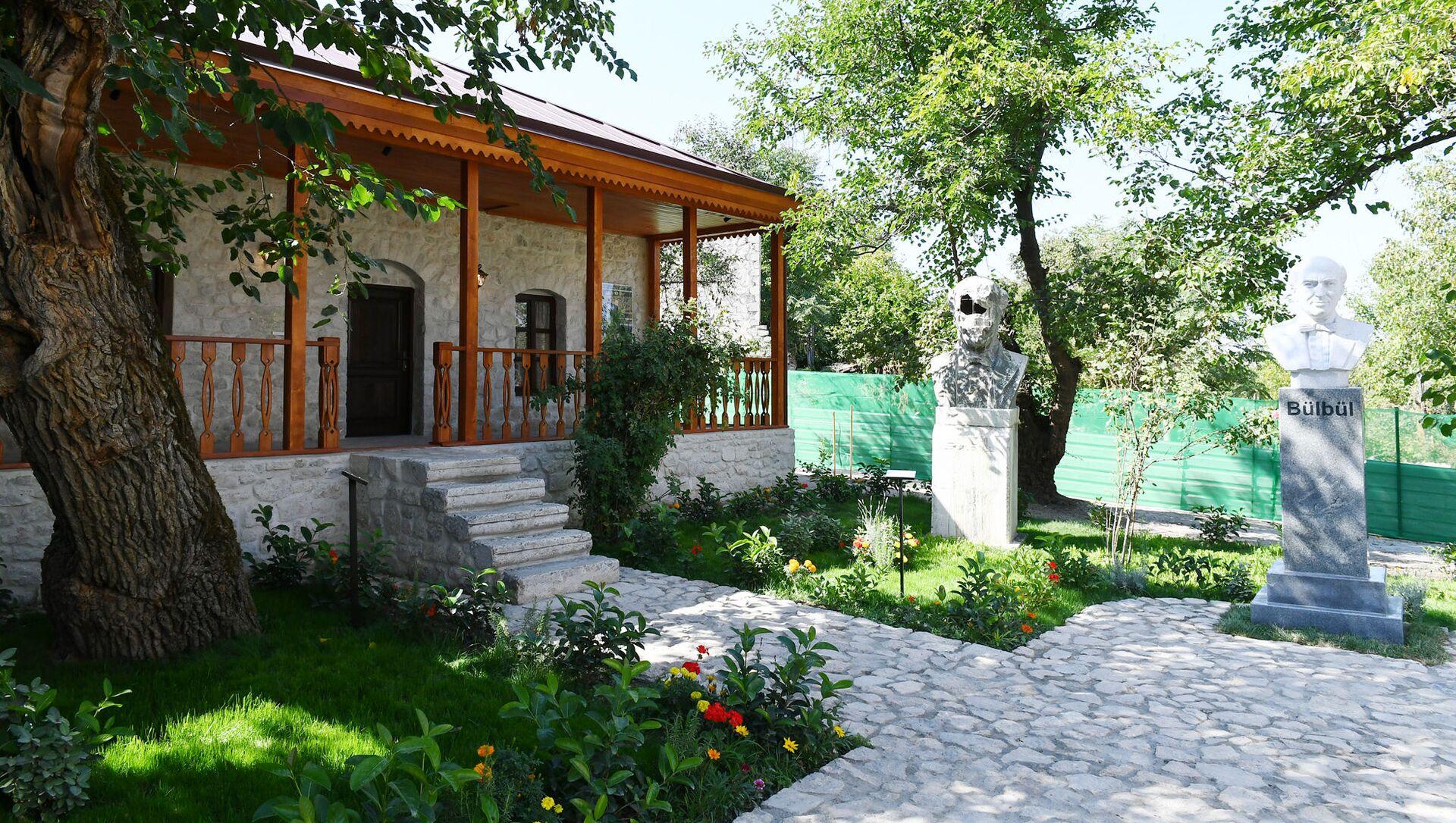 Şuşada Bülbülün ev-muzeyi - Sputnik Azərbaycan, 1920, 23.09.2021