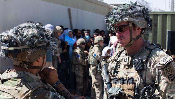 Солдаты 82 воздушно-десантной дивизии США в Кабуле - Sputnik Азербайджан