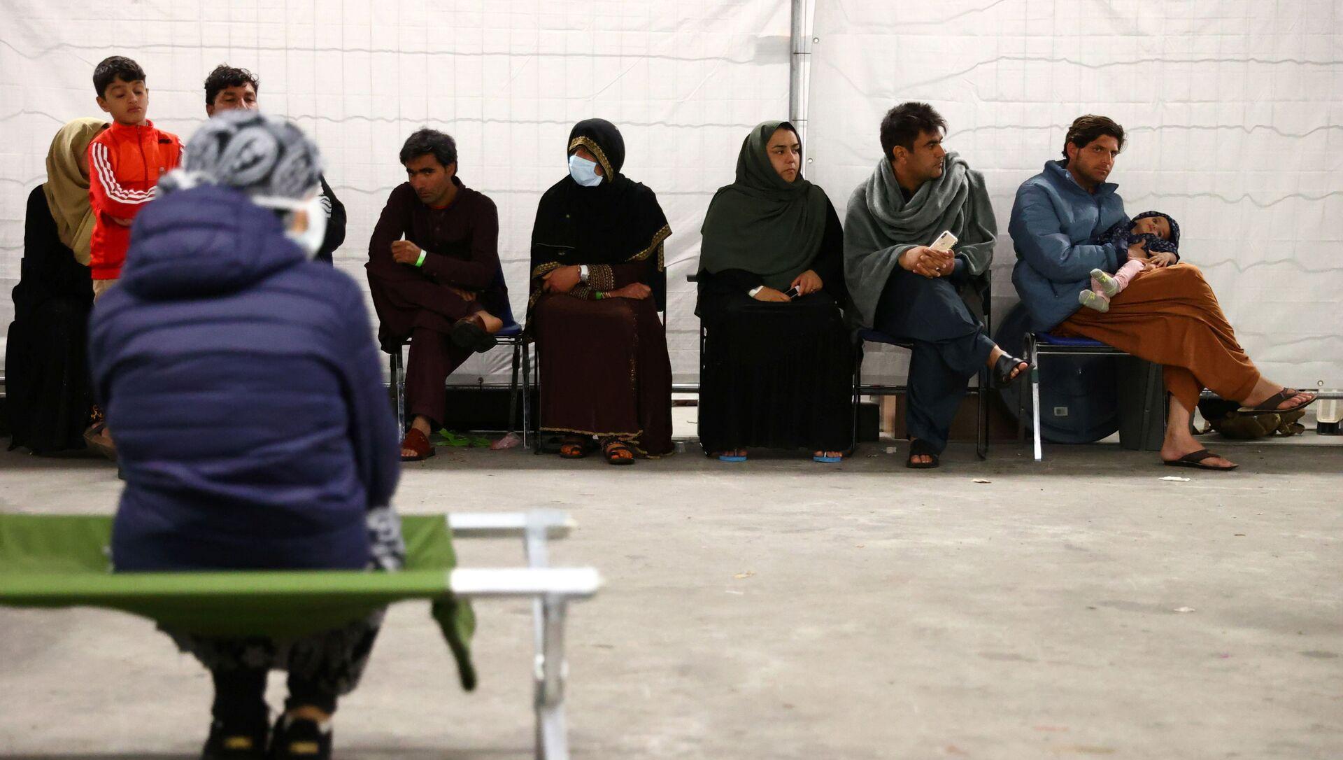 Эвакуированные из Афганистана в Кайзерслаутерне, Германия - Sputnik Азербайджан, 1920, 31.08.2021