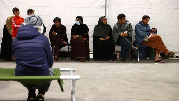 Эвакуированные из Афганистана в Кайзерслаутерне, Германия - Sputnik Азербайджан