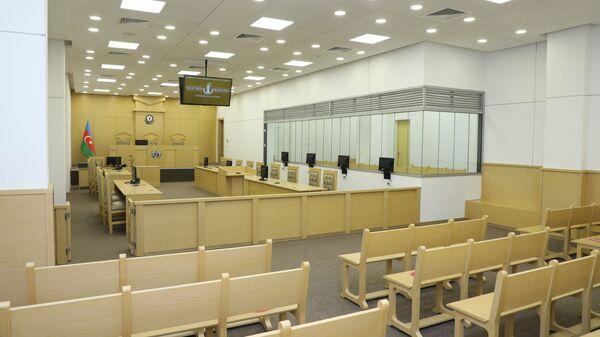 Зал заседания суда, фото из архива - Sputnik Азербайджан