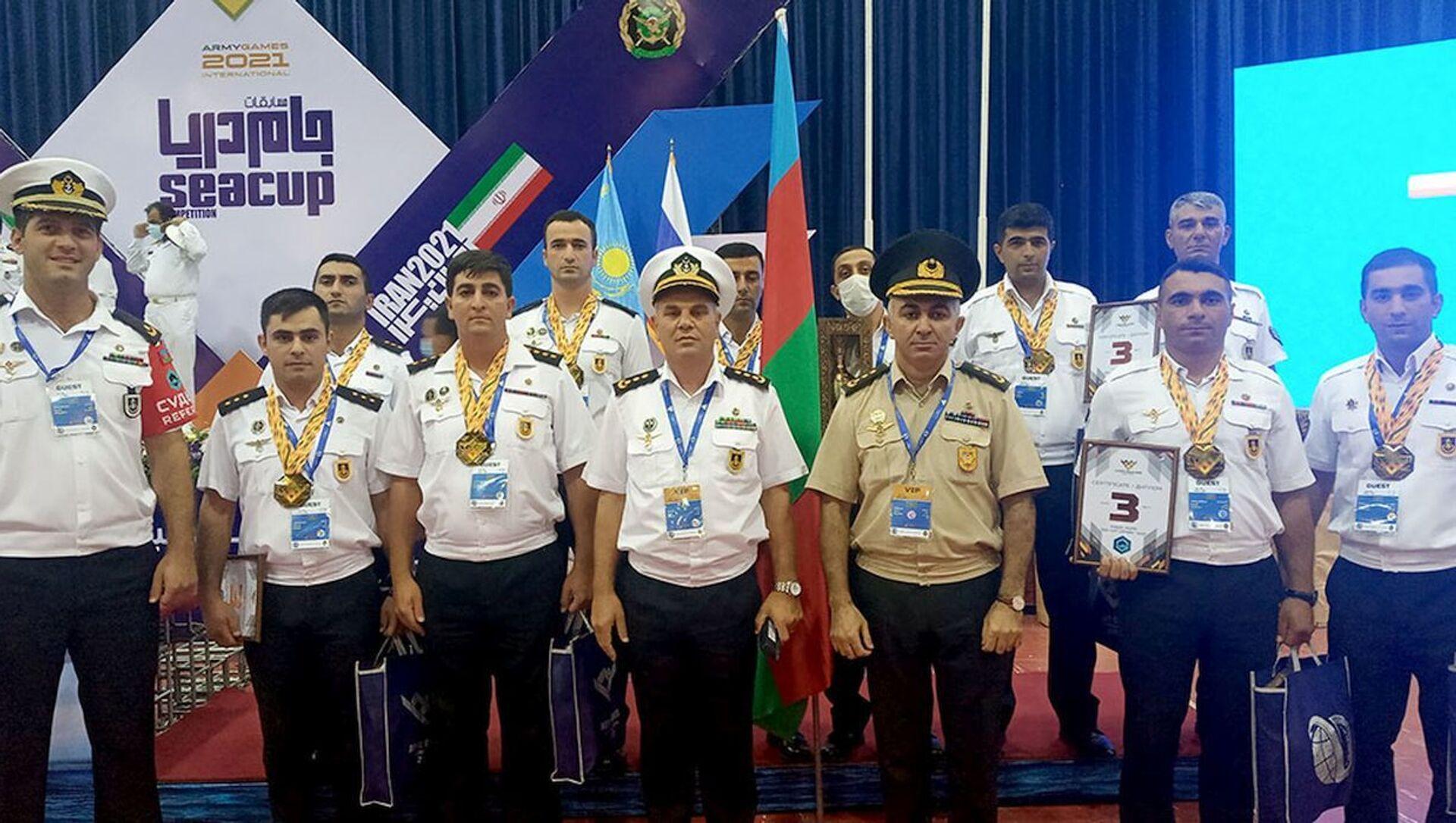 Состоялась церемония закрытия конкурса «Кубок моря» - Sputnik Азербайджан, 1920, 03.09.2021