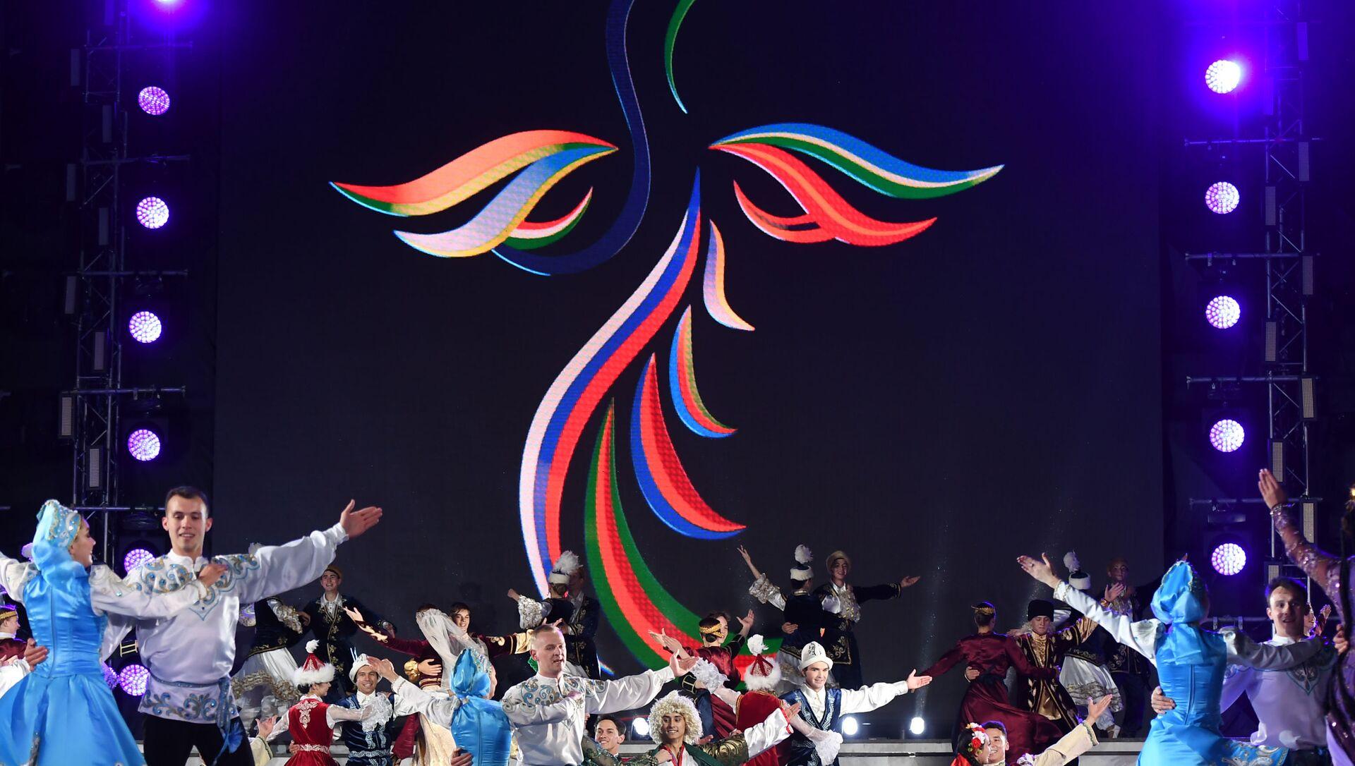 Церемония открытия I Игр СНГ - Sputnik Azərbaycan, 1920, 11.09.2021