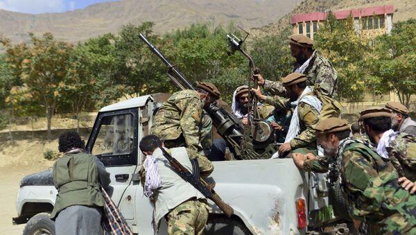 Бойцы афганского движение сопротивления Талибану* в провинции Панджшер - Sputnik Azərbaycan