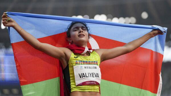Азербайджанская спортсменка Ламия Велиева - Sputnik Азербайджан