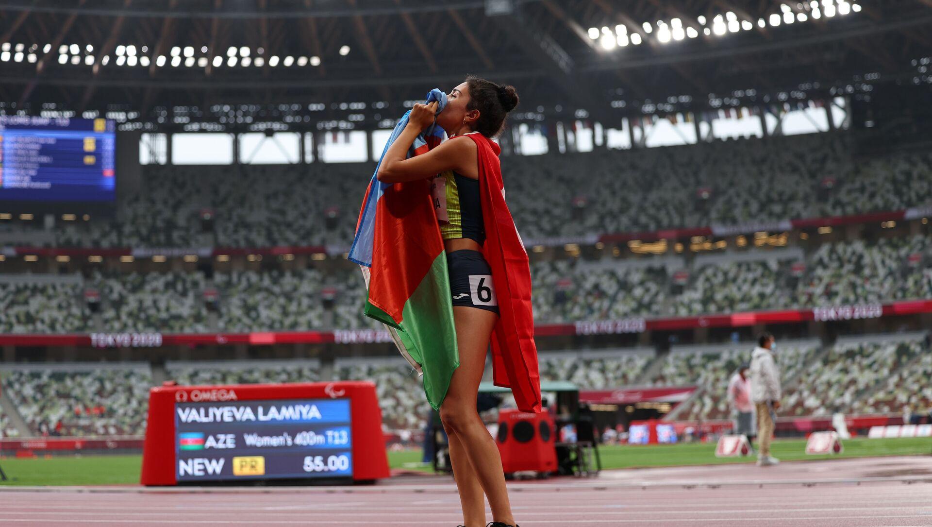 Азербайджанская спортсменка Ламия Велиева  - Sputnik Azərbaycan, 1920, 05.09.2021