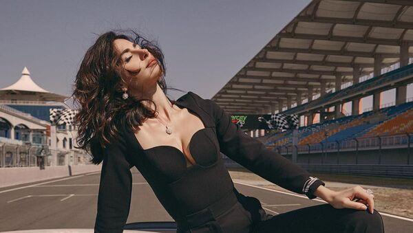 Азербайджанская актриса Несрин Джавадзаде - Sputnik Азербайджан