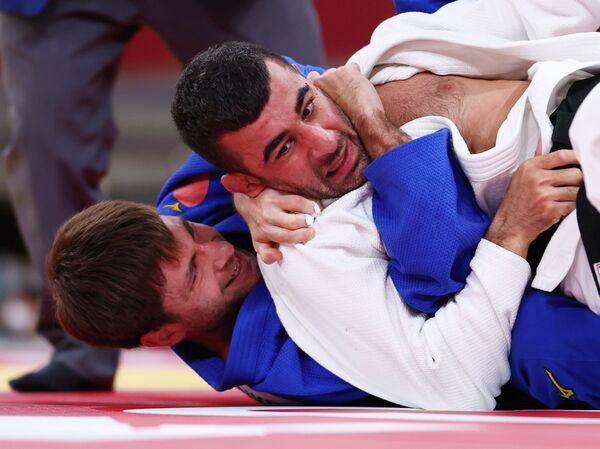 Дзюдоист Намиг Абаслы (66 килограммов) - бронзовый призер Паралимпийских игр Токио -2020. - Sputnik Азербайджан